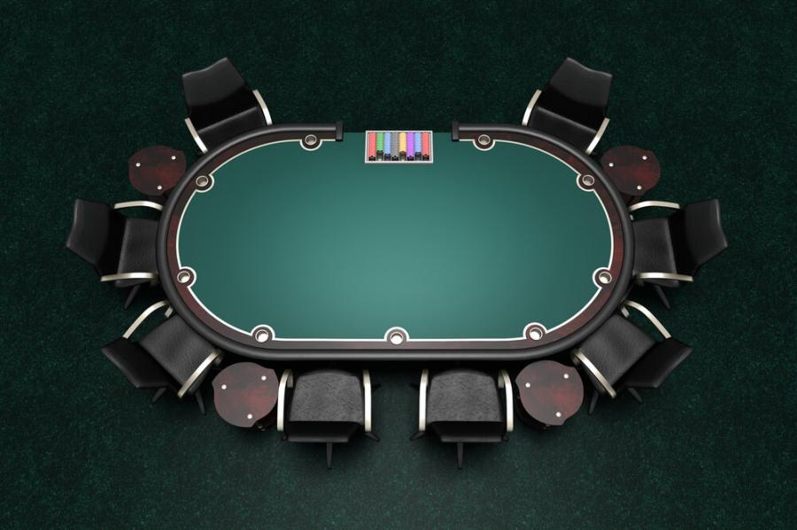 Giantex Folding Play Poker Table
